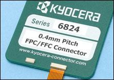 0.4mm间距・省空间的FPC/FFC连接器 6824系列发布